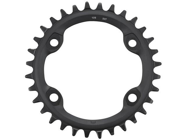Shimano FC-MT610 Plato 12 Velocidades, black